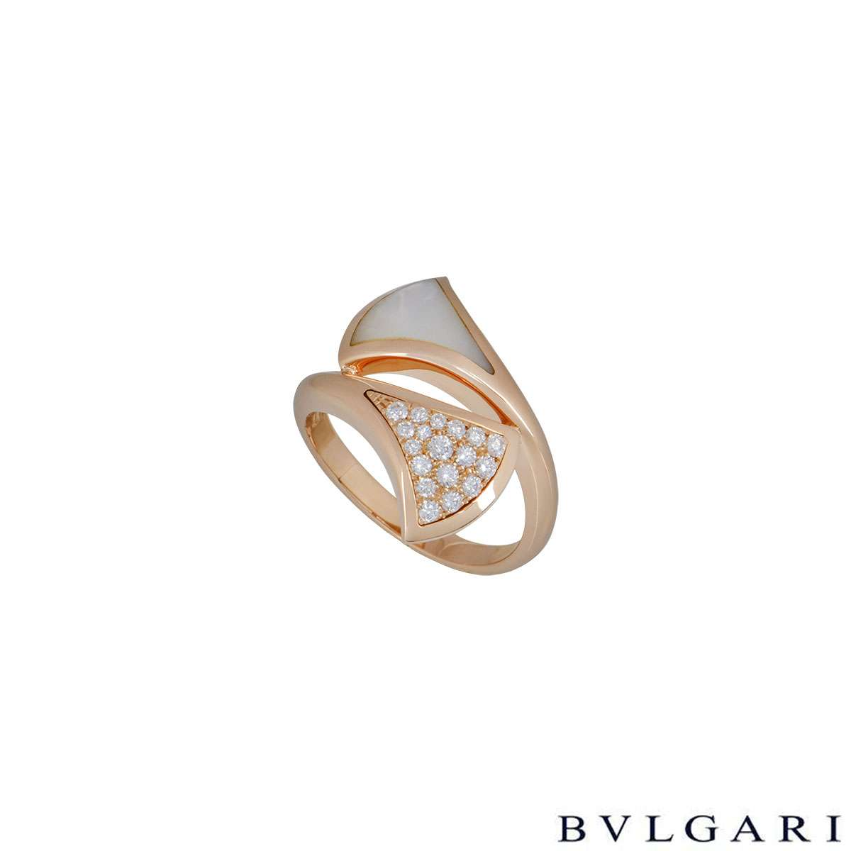 Bvlgari Rose Gold Divas Dream Ring 350720